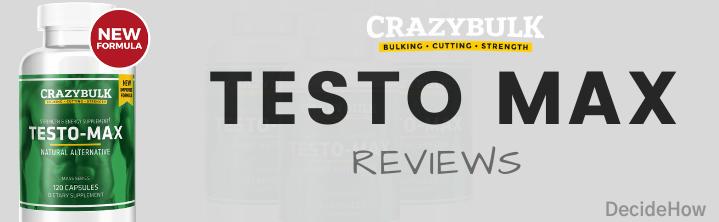 testo max reviews