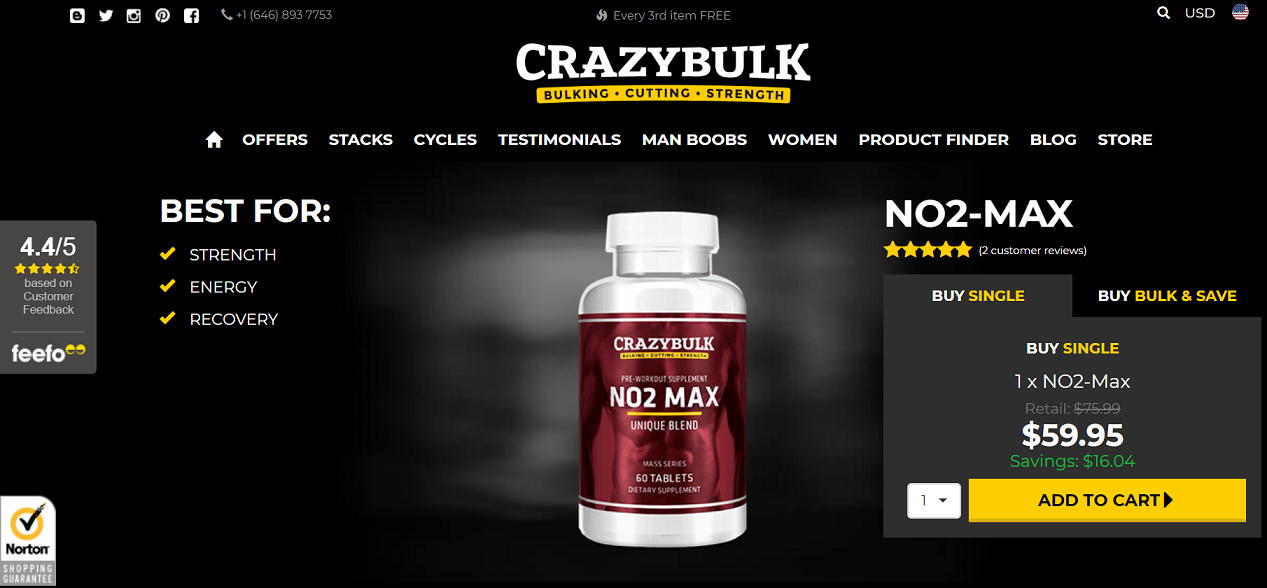 No2-Max Official Website