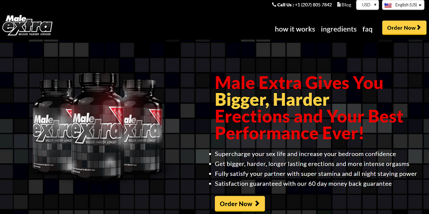male extra official website