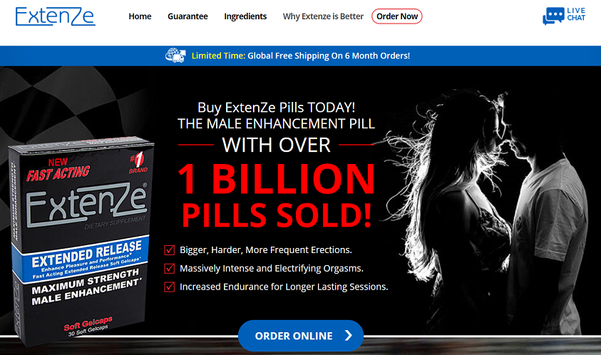 extenze official website