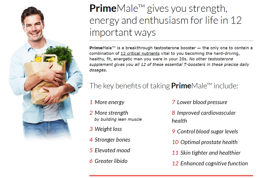 prime male benefits